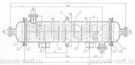 Устройство теплообменника с неподвижной трубной решеткой как подключить теплый пол через теплообменник